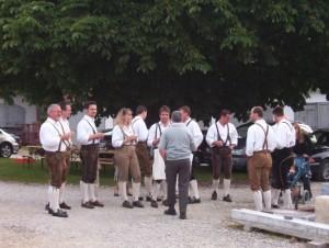 26_06_2004 Grillfeier Schuetzen - Boellerdemonstration 13