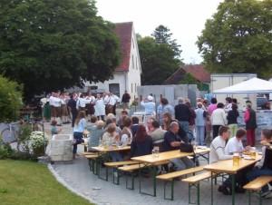 26_06_2004 Grillfeier Schuetzen - Boellerdemonstration 14