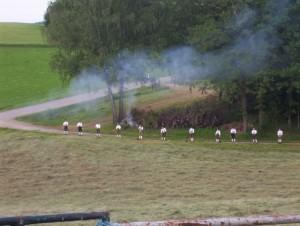 26_06_2004 Grillfeier Schuetzen - Boellerdemonstration 2