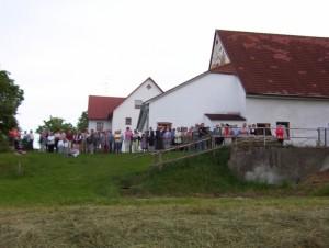 26_06_2004 Grillfeier Schuetzen - Boellerdemonstration Zuschauer 2
