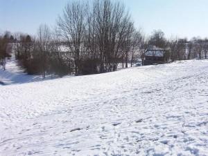 Bauplatz Winter 3