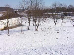 Bauplatz Winter 4